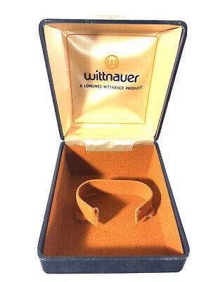 "Vintage Men's Wittnauer Longines Display Storage Watch Box From 1960s/70"""