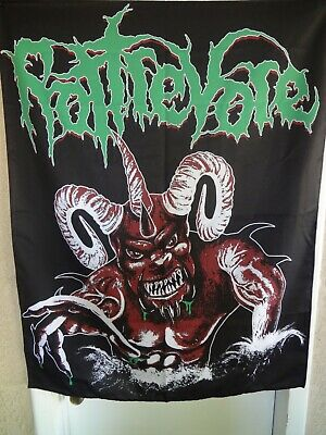 Rottrevore - Iniquitous Fabric Banner bolt thrower massacre morbid angel death