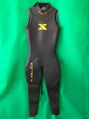 XTERRA Vortex Wetsuit Long John Wet Suit Womens Size S black neoprene sleeveless - Vortex Neopren Wetsuit