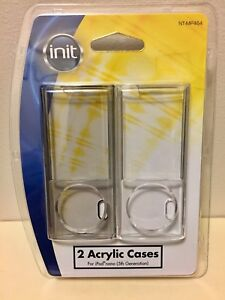 INIT 2 Acrylic Cases For Ipod Nano 5th Generation (New)