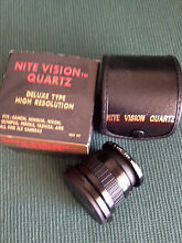 Nite Vision Lens.  Chipping Norton Liverpool Area Preview