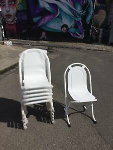 replica stak-a-bye chairsX6,dining/outdoor chairs WE CAN DELIVER Brunswick Moreland Area Preview