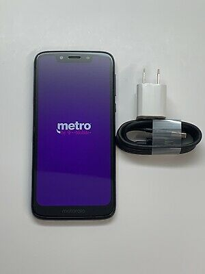 Motorola Moto G7 Play XT1952-6 Metro PCS Black 32GB Smartphone Average 7/10