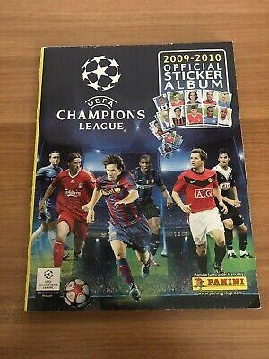 Album Champions League 2009/10 completo