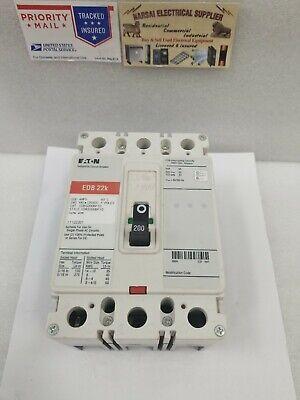 Edb3200bp10 Eaton Circuit Breaker 200 Amp 240 V 22k Box48