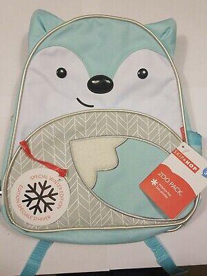 Skip Hop Zoo Pack Winter Edition Arctic Fox Little Kid Backpack