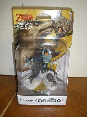 The Legend of Zelda Twilight Princess Wolf Link Amiibo Nintendo Switch Wii U