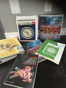 Fanshawe Pre Health Science text books