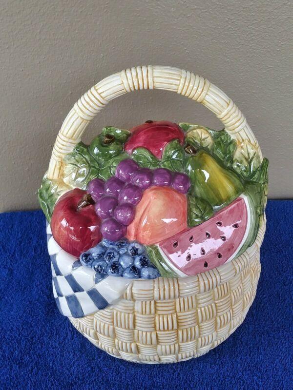 Vintage Certified International Corp. by Susan Winget Fruit Basket
