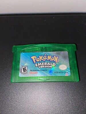 Pokemon Emerald Version (Nintendo Game Boy Advance, 2005) Authentic GBA Read
