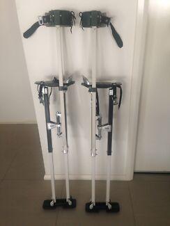 "S2 II Magnesium Drywall Stilts 24""-40"" NEAR NEW RRP$279USD"