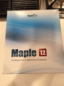 Maple 12 Software Package for Advance Math