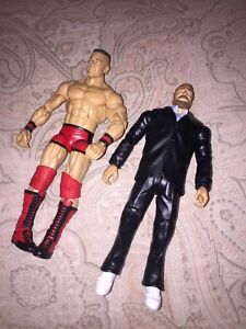 Limited addition wwe toys