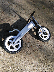 Silver balance bike Buderim Maroochydore Area Preview