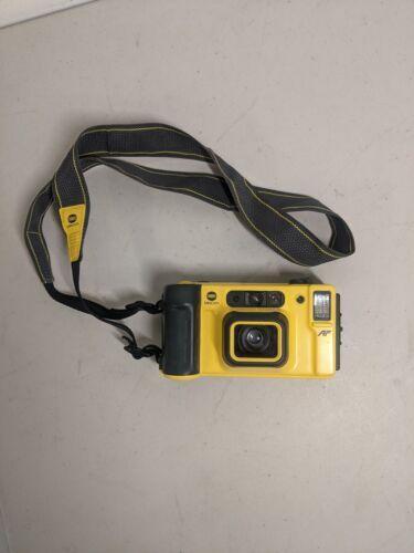 Minolta Weathermatic Dual 35 AF Underwater Film Camera JAPAN w/ Strap
