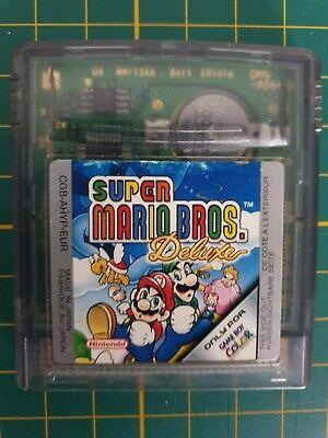 GAME BOY GAMEBOY COLOR GBC GAME RARE SUPER MARIO LAND BROS DELUXE  EUR  1