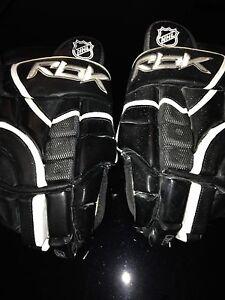 Reebok ice hockey gloves