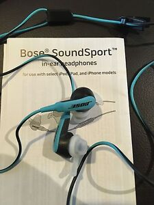 Bose sound sport in ear headphones