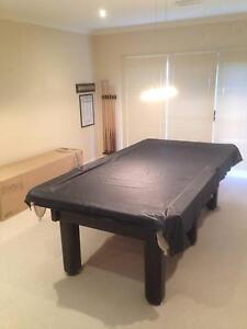 Pool table approx 9'x4' B&B Billiards Macquarie Links Campbelltown Area Preview