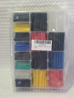 580pcs - Heat Shrink Tube 6 Colors 16 Sizes Tubing Set Combo Assortment