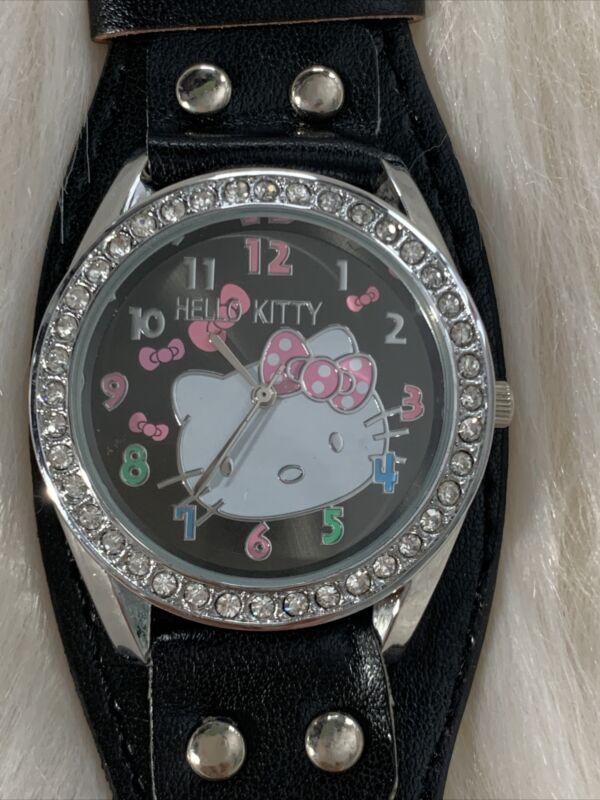 Hello Kitty Black Watch
