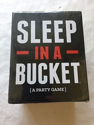 Sleep In A Bucket  A Party Game    From Drunk Stoned Or Stupid