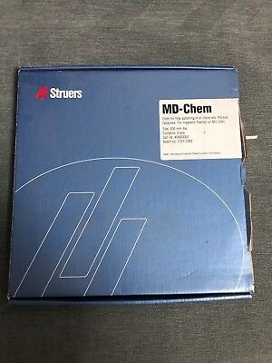 Struers Md-chem 200 Mm Cloth For Final Polishing All Materials - 5 Pcs Box