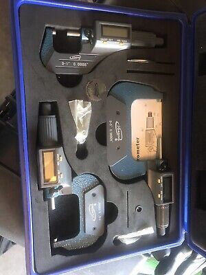 I Gageing Digital Micrometer Set 0-3