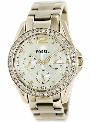 Fossil Women's Riley ES3203 Gold Tone Stainles-Steel Analog Quartz Fashion Watch