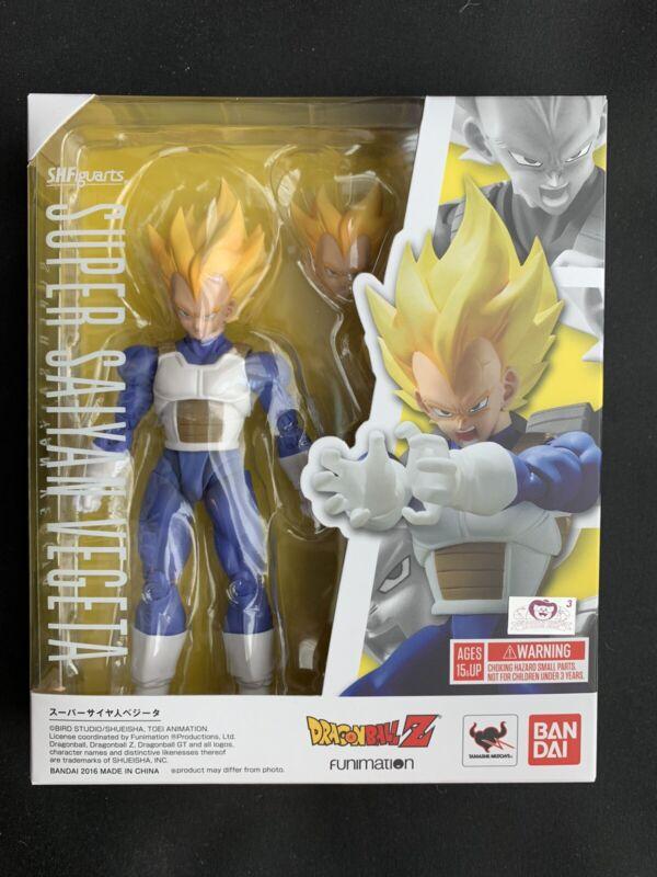 Bandai S.H. Figuarts Dragon Ball Super Saiyan Vegeta - Brand New MISB