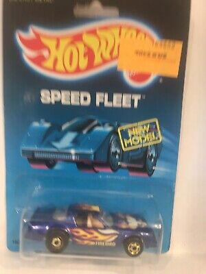Hot Wheels Hot Bird Speed Fleet Series 1451 Blue 1:64