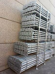 Good quality Galvanized Steel Acrow Props for SALE NOW! Revesby Bankstown Area Preview