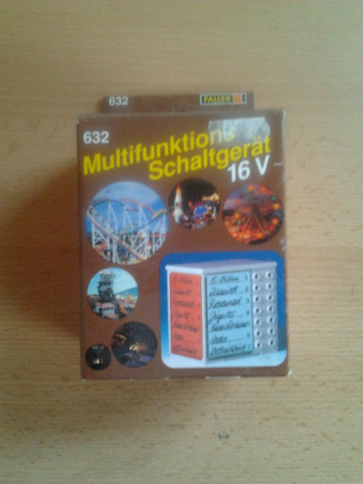 16 V Multifunktionsschaltgerät für die Modell Kirmes