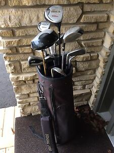FS Golf Clubs and Bag