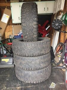 Used 275/60R20 Duratrac Tires