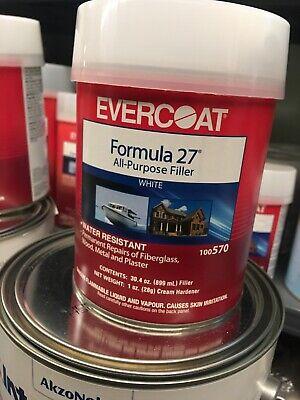 Evercoat  Formula 27  All-Purpose Filler  1 qt. Formula 27 Filler