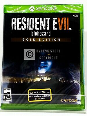 Resident Evil 7 Biohazard Gold Edition - Xbox One - Brand New | Factory Sealed