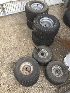 LAWN TRACTOR RIDING MOWER TIRES