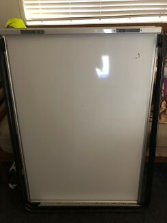 Double sided whiteboard on stand $50 ono