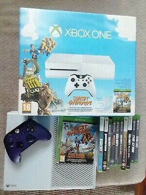 Xbox One 500gb 10 Games And Controller