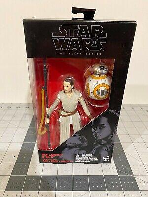 Star Wars The Force Awakens, The Black Series 6 inch Rey (Jaku) and BB-8 #02 NIB