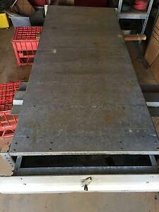 UNDER TRAY ROLL OUT TRUNDLE DRAWER UTE TOOL BOX Everton Park Brisbane North West Preview