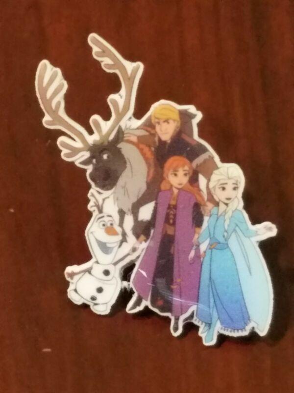 Anna Elsa Olaf Kristoff and Sven Frozen Fantasy Disney Pin