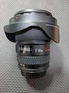 Canon 17-40mm F4 L Lens in Excellent Conditon Brisbane City Brisbane North West Preview