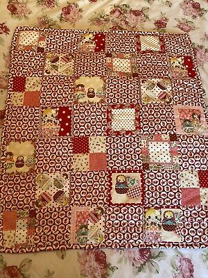 patchwork quilt Russian Dolly Vintage Cath Ashley Floral