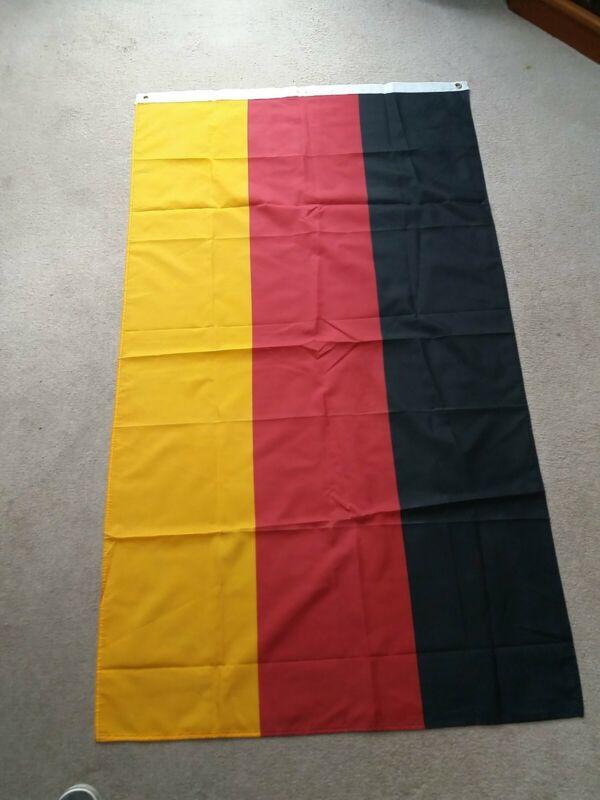 Large Vintage World Flag - Germany  - 5 Foot