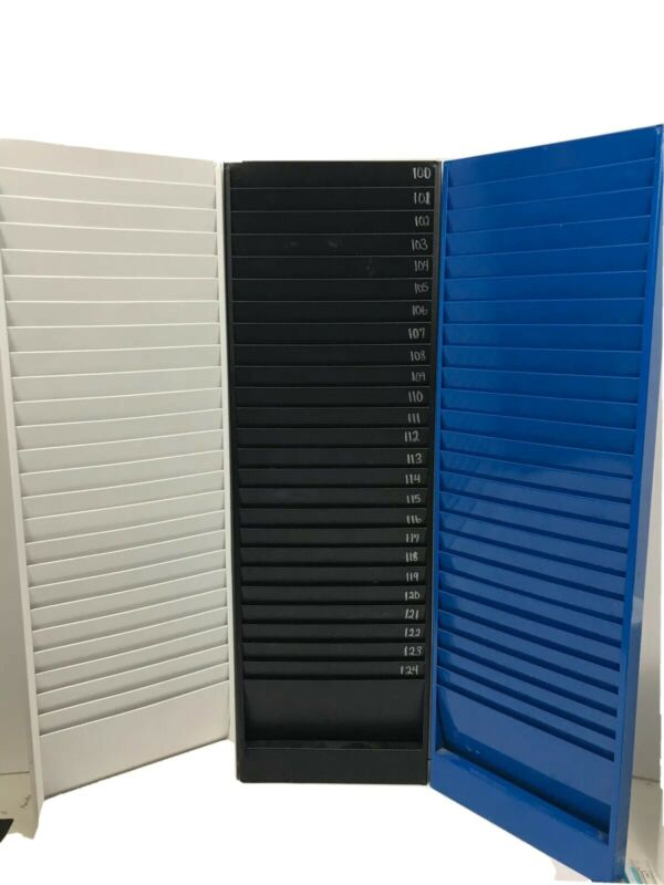 Express Time Systems Metal Card Rack - Various Colors Available