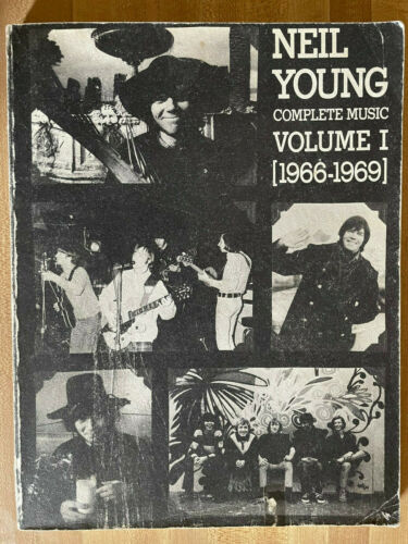 NEIL YOUNG Complete Music Volume I #1 1966-1969 Buffalo Springfield Great Photos