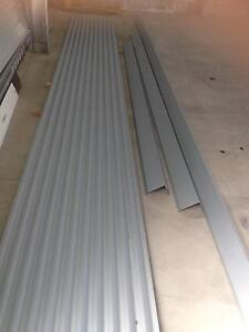 Corrugated iron and zinc flashing Indented Head Outer Geelong Preview