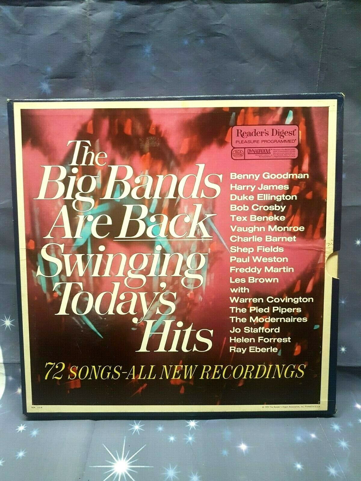 Various ?? The Big Bands Are Back Swinging Today's Hits Label: Reader's Digest ?